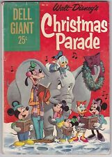 Walt Disney's Christmas Parade #26 VG+ 4.5 Dell Giant 1959!