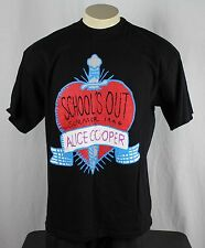 Alice Cooper Schools Out Summer 1996 Vtg 90's Tour Concert T-Shirt XL