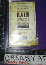 Puddle Jumping Rain Rainbows Sing Cling Rubber Stamps Unity Stamp Company Ib456