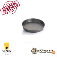 TEGLIA TORTIERA TONDA LISCIA 30 x 4,2 cm VESPA DOLCI TORTE TORTA DOLCE  FORNO