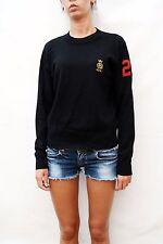 GURU CAMPIONE cotone/lana/cashmere Top Pullover Maglione Donna Vintage 90 S L Bello