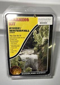 Woodland Scenics LK955 River/Waterfall Learning Kit for Model Railways