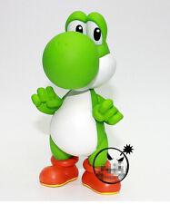 "Nintendo Super Mario Bros 5"" GREEN YOSHI Figure Toys FREE SHIPPING"