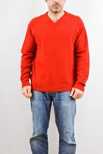46be4f1da19f4 Conte of Florence V neck 100% WOOL Jumper Sweater Top Knit Casuals L NICE