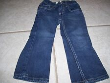 Toddler girls denim jeans by Jumping Beans in size 3T, great shape and cute.