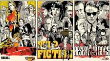 Kill Bill Pulp Fiction Reservoir Dogs Movie Poster 22x36 inch 002