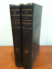 """Antique Charles Dickens Household Edition """"Christmas Stories"""" Vol. 1-2 1863"""