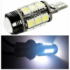 12W HID Super Bright White 921 T15 Backup Reverse LED Lights Projector Lens Bulb