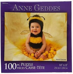 Anne Geddes Baby Photo Image Cute Picture Activity Gift 100 pc. Jigsaw Puzzle