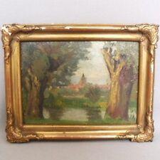 Künstlerische Malereien aus 1900-1949 mit Landschafts- & Stadt-Motiv