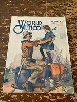October 1918 World Outlook Magazine Volume 4 Number 10 The Winning America