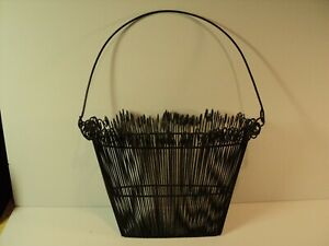 Home Decor Wire, Hanging Basket. Curled Ends. Usual Design