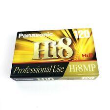 Panasonic Hi8 120 Professional Use Camcorder Video Tape New Sealed