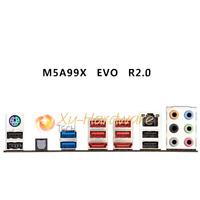NEW IO I/O SHIELD back plate BLENDE BRACKET for ASUS M5A99X EVO R2.0