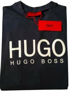 Hugo Boss t shirt never used men's t shirt new with tag original Navy Blue- M