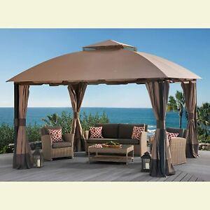 Sunjoy Replacement Canopy set (Deluxe) for L-GZ659PST 11X13 South Hampton Gazeb