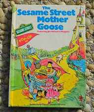 Vintage 1976 HC Sesame Street Pop Up MOTHER GOOSE BOOK Random  needs tiny repair