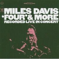 "MILES DAVIS ""FOUR & MORE"" CD NEW"