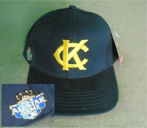Kansas City Monarchs Negro League Baseball Hat Wool w/ 2012 All Star Game Pin