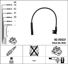 FORD ORION III (GAL) 1.6 66KW IGNITION LEAD SET NGK RC-FD537 0632