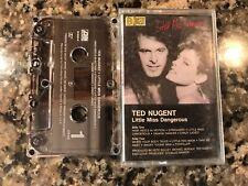 Ted Nugent Little Miss Dangerous Cassette! Kid Rock Alice Cooper Kiss