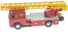MERCEDES BENZ PATROL FIRE ENGINE TRUCK SCALE-KOVAP TIN TOY  COLLECTORS 622