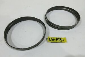 """Morse 5' 4"""" Long x 1/2"""" Wide Band Saw Blades, Two Pack, USA"""