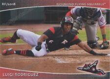 2018 Richmond Flying Squirrels Luigi Rodriguez RC Rookie San Francisco Giants