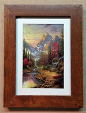 "Thomas Kinkade Framed Open Edition print ""The Good Life"" - NEW"