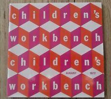AUG 1972 Children's Workbench CATALOG Mid Century Furniture Danish Scandinavian