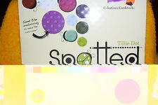 CORE 'DINATIONS TILLIE DOT SPOTTED CARDSTOCK, 12 X 12, NEW