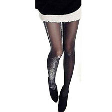 Fabulous Shiny Pantyhose Glitter Stockings Womens Glossy Tights HY