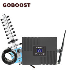4G LTE 1800Mhz Booster B3 Cellular Cell Phone Signal Repeater 1800 Kit Goboost