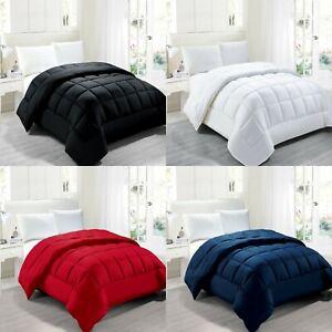 Goose Down Alternative Comforter Hypoallergenic Anti-Dust Mite Anti-Bacterial
