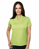 Tri-Mountain Women's Moisture Wicking Drop Tail Short Sleeve T-Shirt. 051