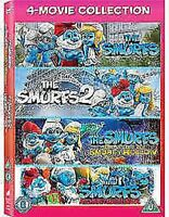 The Smurfs Collection Film (4 Films) DVD Neuf DVD (CDRP41838)