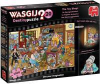 Jumbo 19171 Wasgij Destiny 20 - The Toy Shop! 1000 Piece Jigsaw Puzzle, Multi