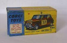 Repro Box Corgi Nr.317 Mini Cooper S Monte Carlo