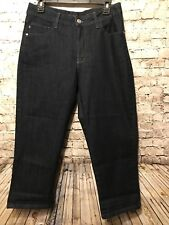 Lee Classic Fit Jeans 12 Med Dark Wash Blue