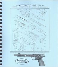 SMITH & WESSON MODEL NO 41 .22 AUTOMATIC PISTOL MANUAL