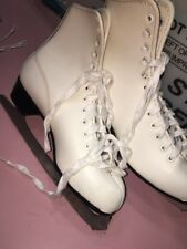 Ice Skates Imperial Hardened And Tempered Size 9 White Color