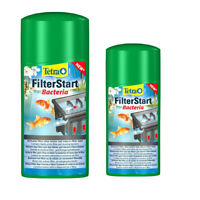 Tetra Pond FILTERSTART Filter Start Bacteria 500ml 1000ml Garden Fish Koi