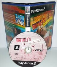 BRITNEY'S SPEARS DANCE BEAT - Playstation 2 Ps2 Play Station Gioco Bambini Game