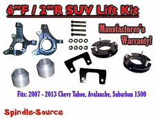"2007 - 2013 Chevy Suburban Tahoe Avalanche 1500 6"" / 2"" Lift Kit Spindle 07-13"