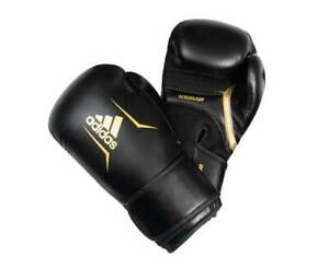 Speed ​​boxing gloves 100 black and gold