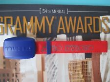 Coldplay Wristband 2012 54th GRAMMY AWARDS Grammys Set Used Prop Rihanna Red