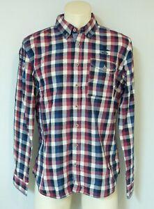 New Zealand Auckland Herren Langarm  Hemd Freizeithemd 100% Baumwolle Neu XL
