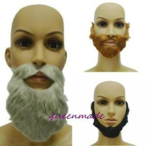 Fancy Dress Costume Party Halloween Fake Mustache Funny Beards Supply W