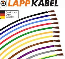H07V-K H05V-K Lapp Kabel 0,75 1,0 1,5 2,5 4 6 10 16mm² Einzelader Litze Farbwahl