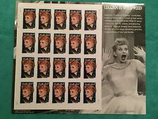 Lucille Ball US - 2001 Legends of Hollywood Full Sheet Face Value $6.80